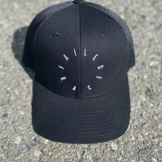 360 Black Snapback